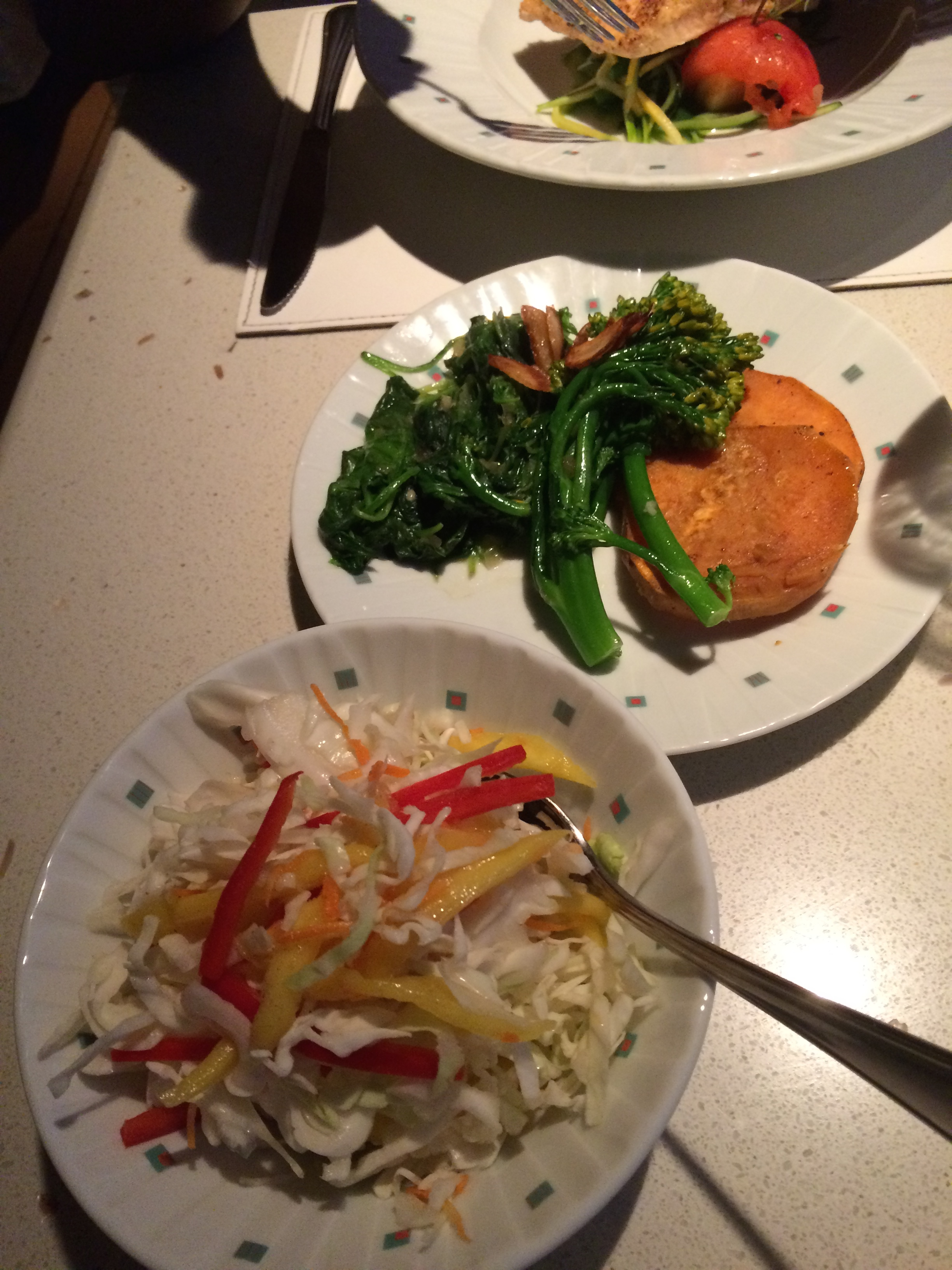 THE SIDE DISHES WE TRIED WERE TOTALLY FRESH