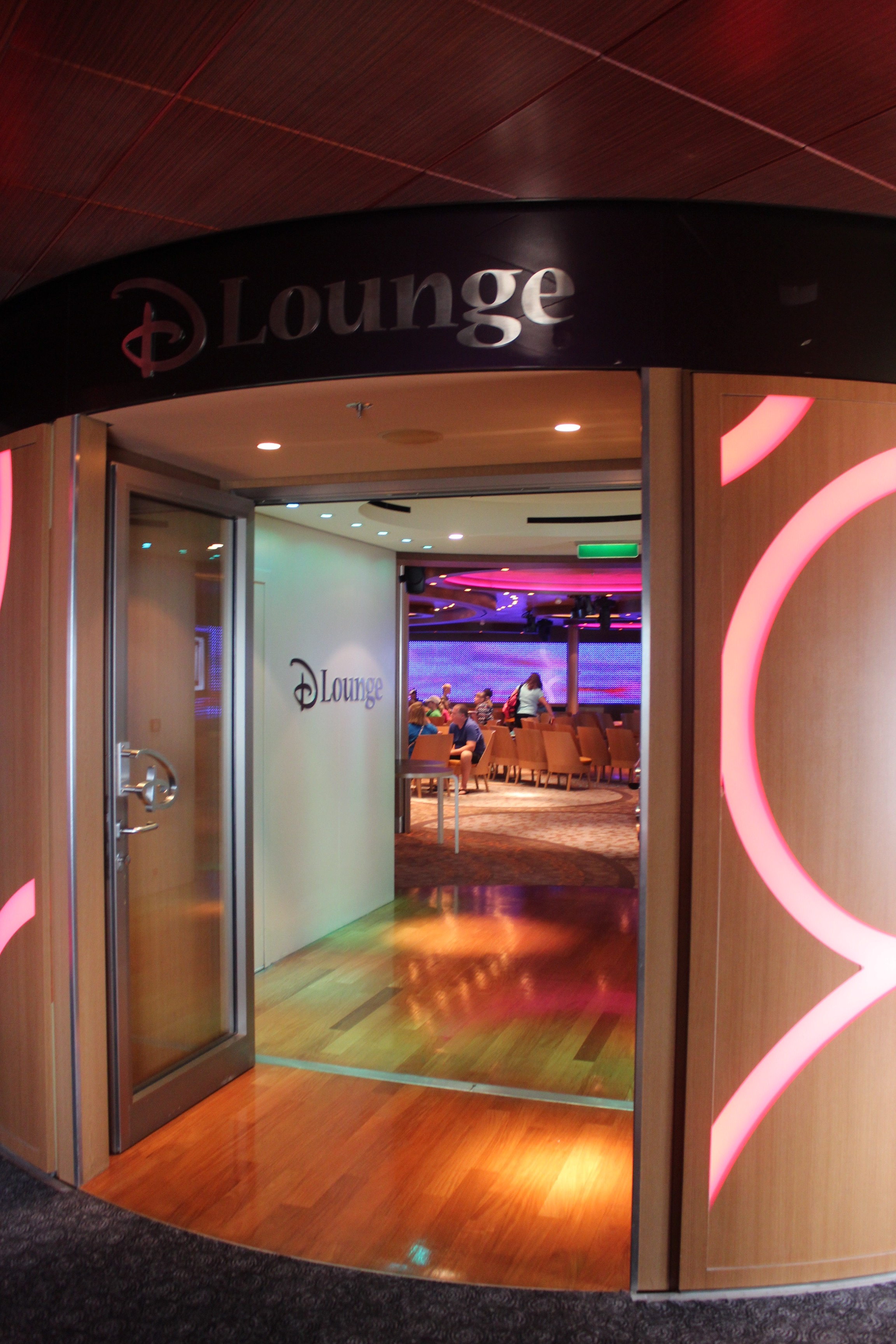 The D Lounge is a venue onboard that hosts events throughout the day and night that the entire family can enjoy together.