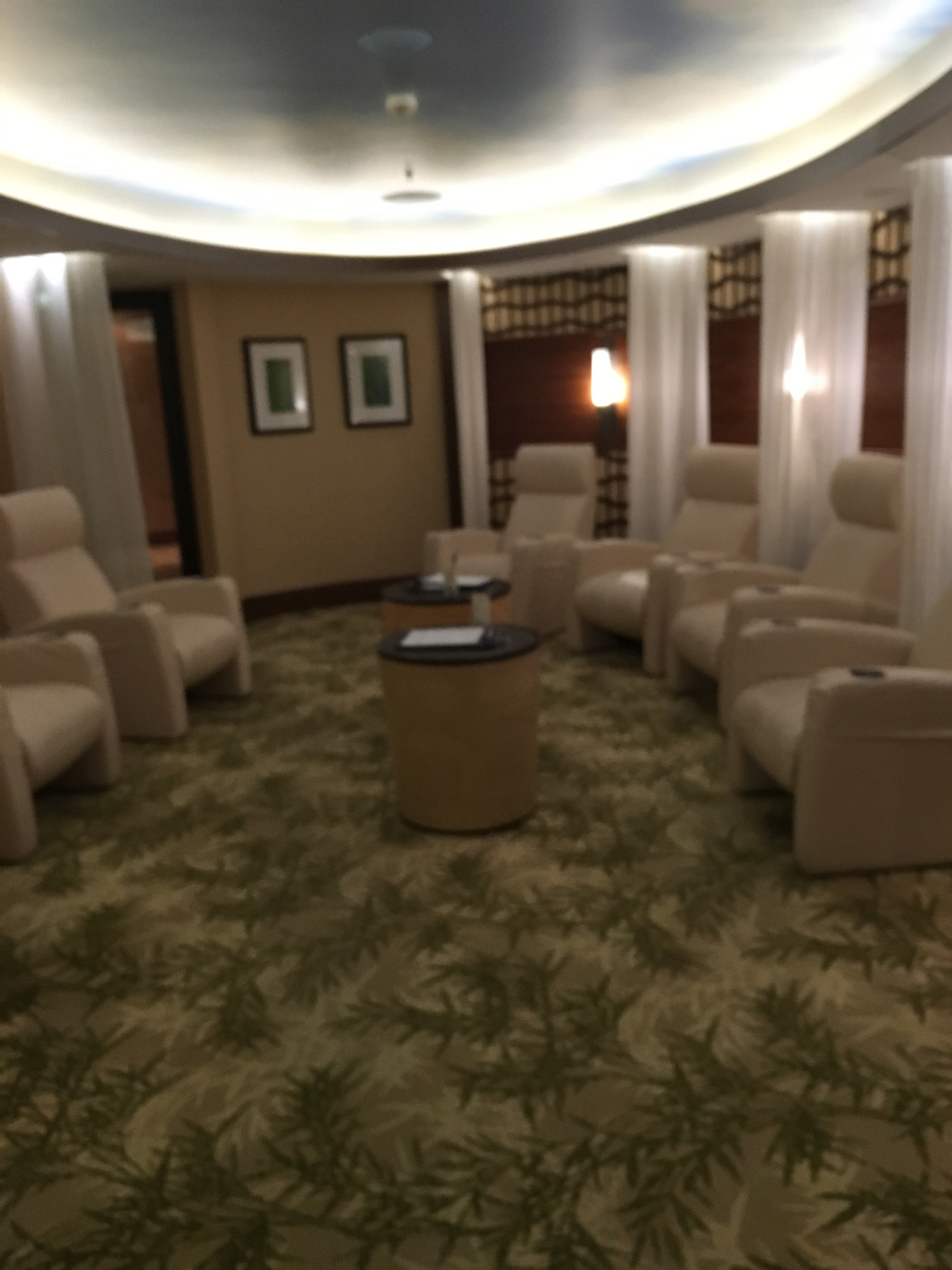 Senses Spa Waiting room