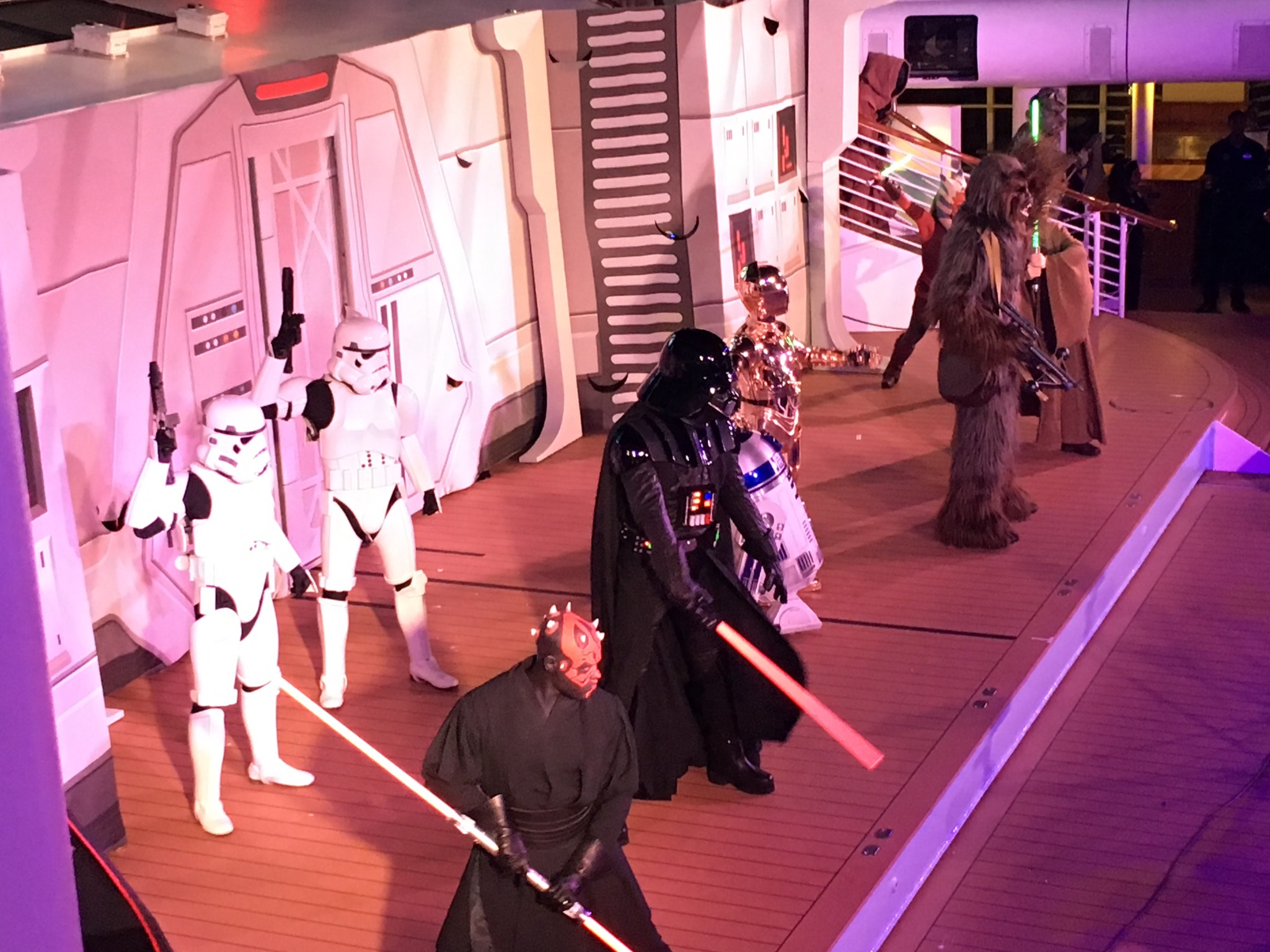 Star Wars Awaken the Force Show 2