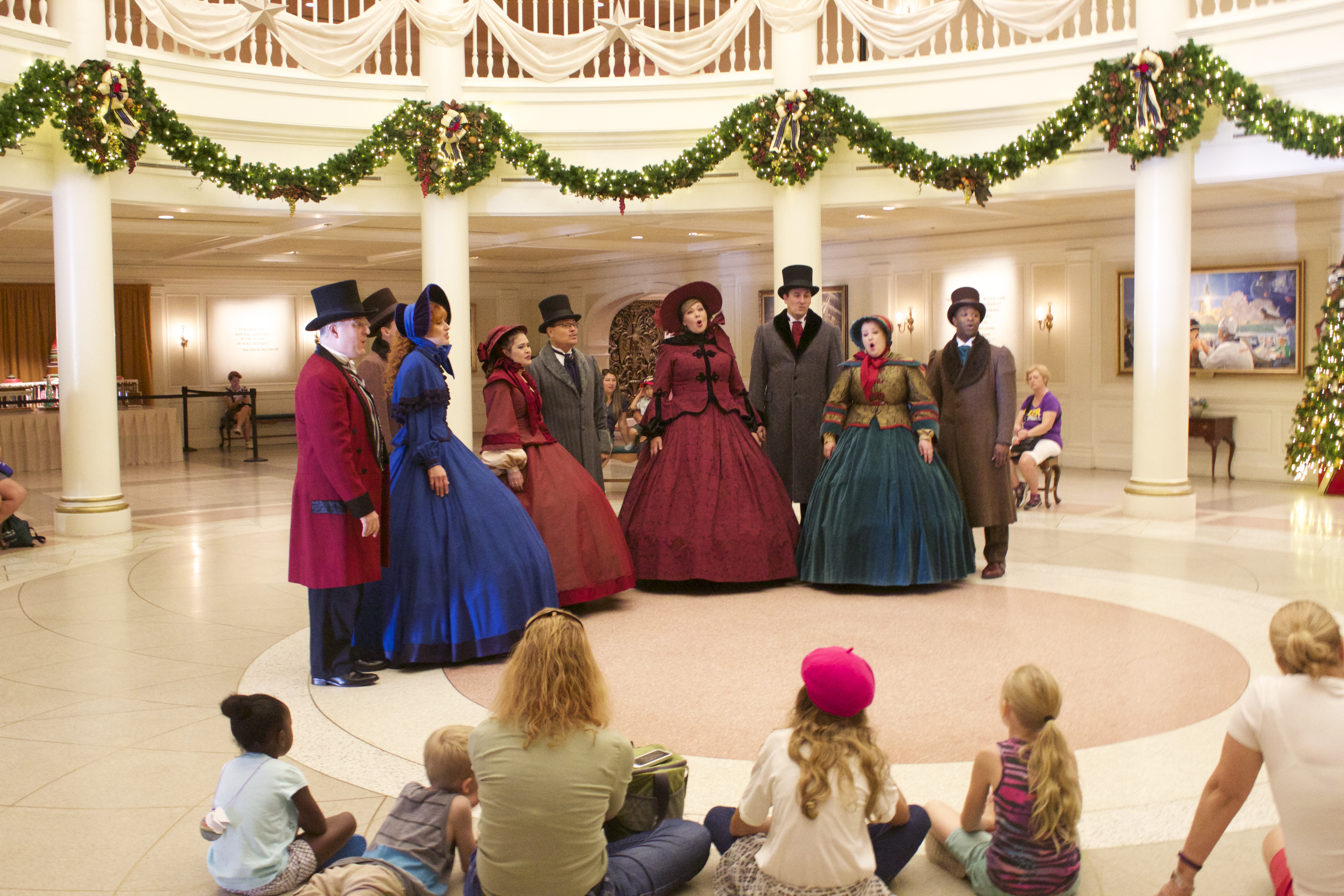 epcot christmas voices of liberty