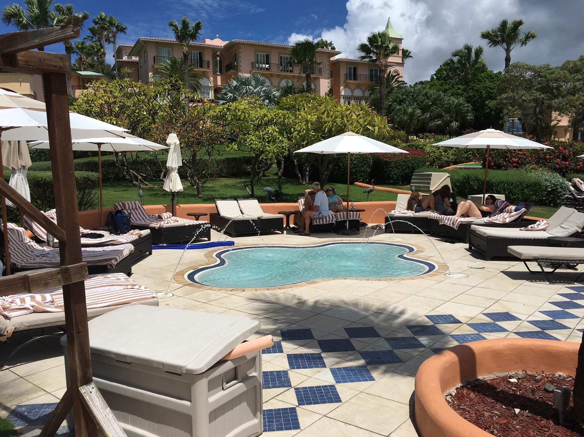 ritz carlton st thomas pool