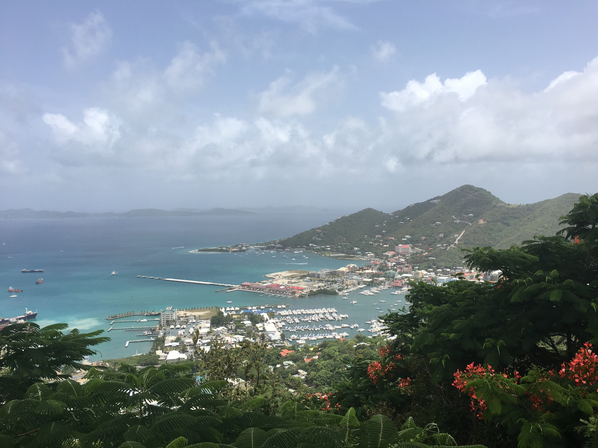 zipline tortola british virgin islands