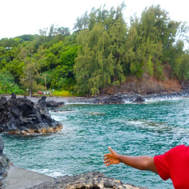 One of our Road to Hana stops on Maui washellip