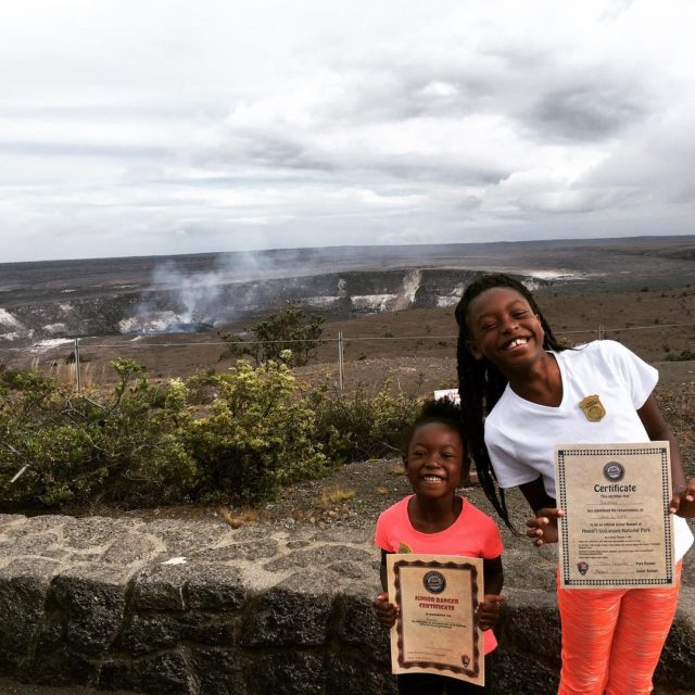 My girls still talk about their visit to Volcanoes Nationalhellip