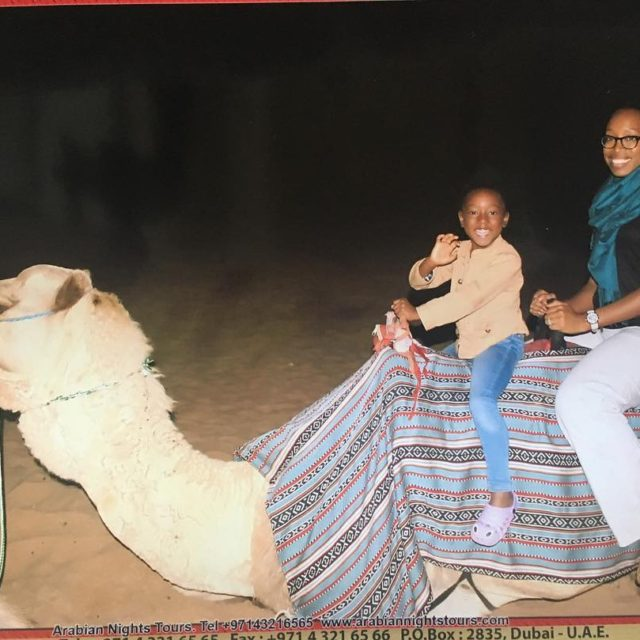 The advertised camel rides on our desert safari werent muchhellip