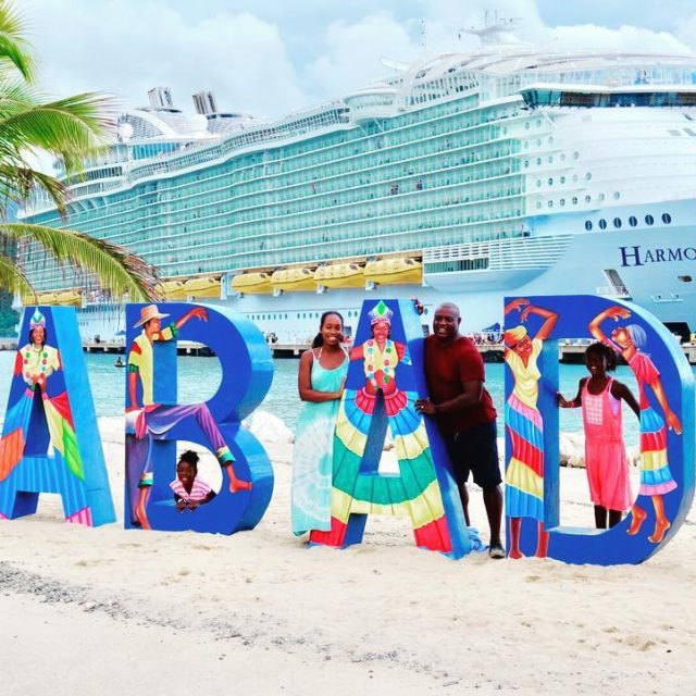 We stopped at Labadee Haiti on our Harmony of thehellip