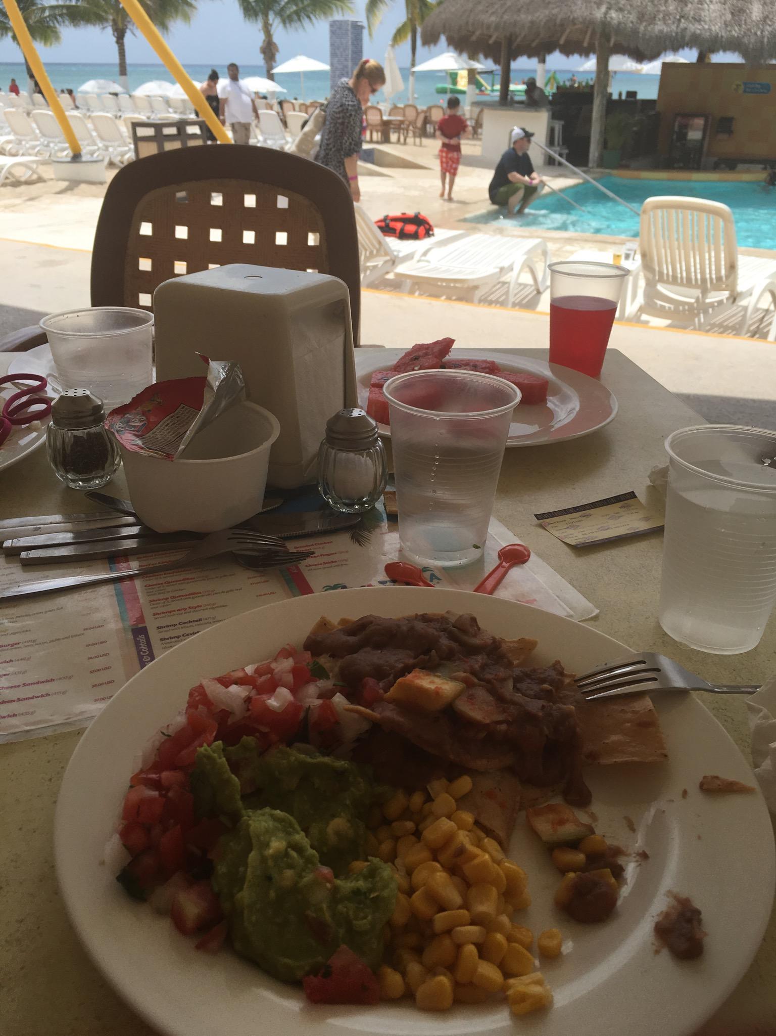 Beach Buffet Meal