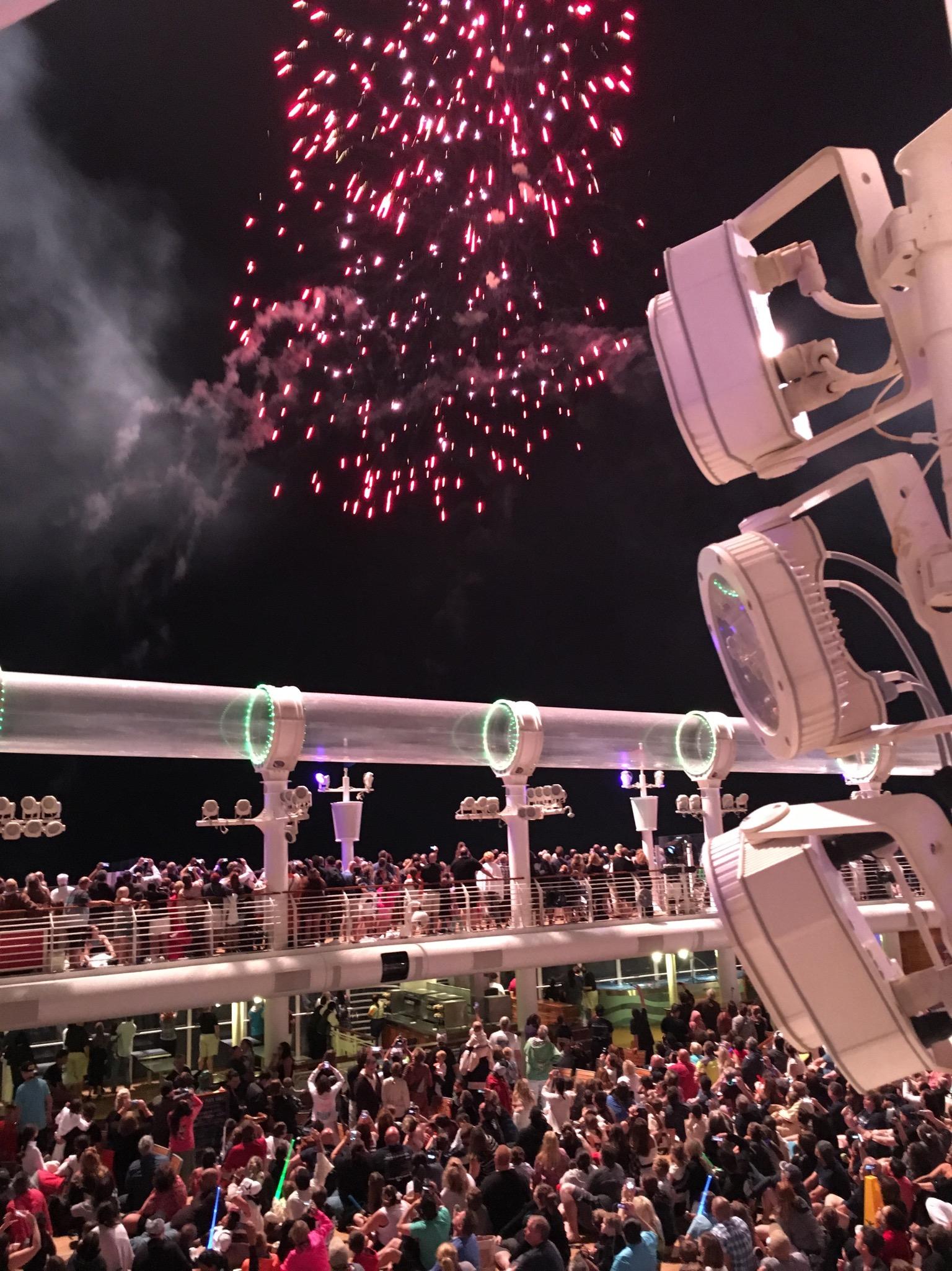 Fireworks Star Wars Day