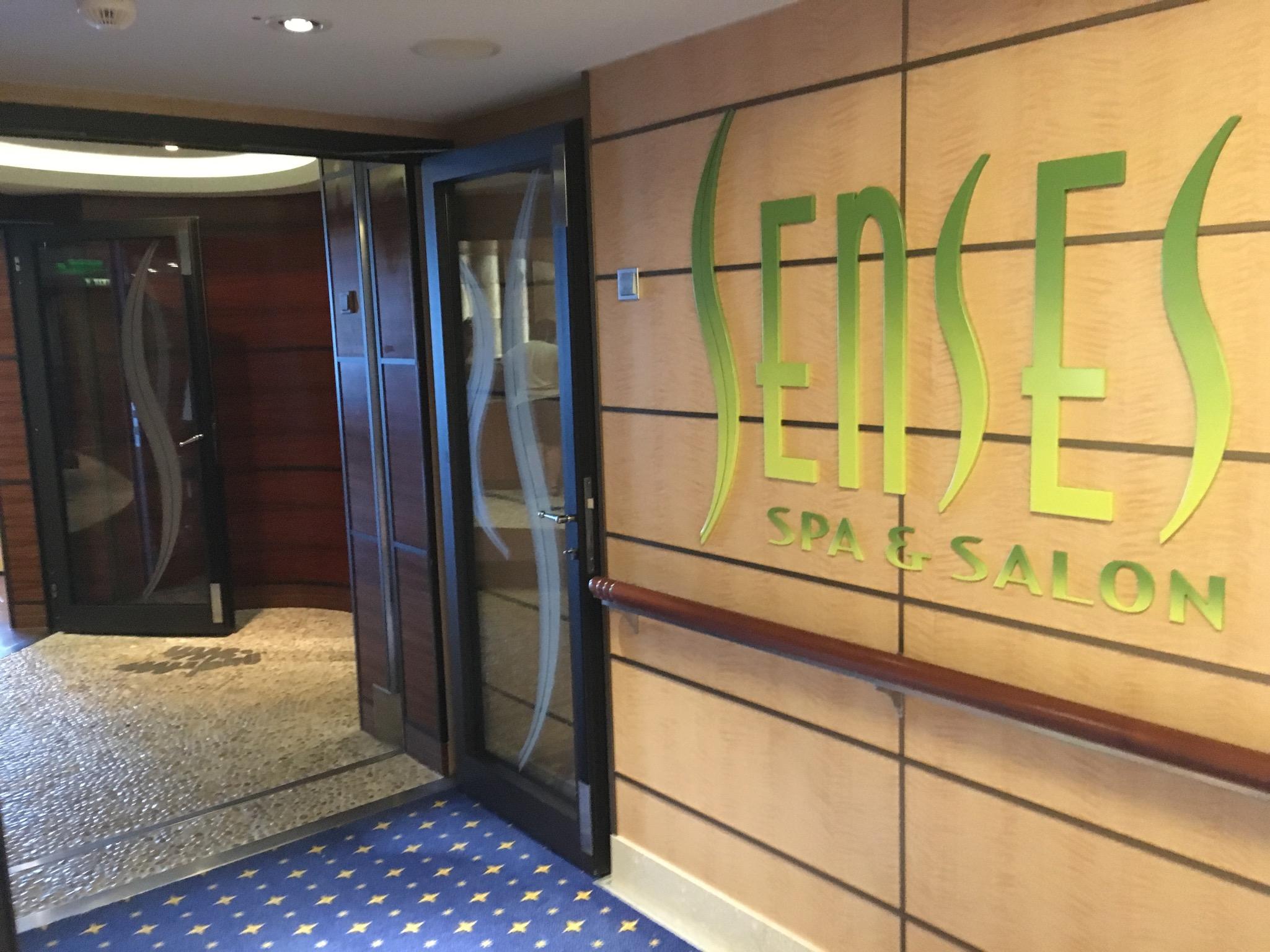 Senses Spa Entrance