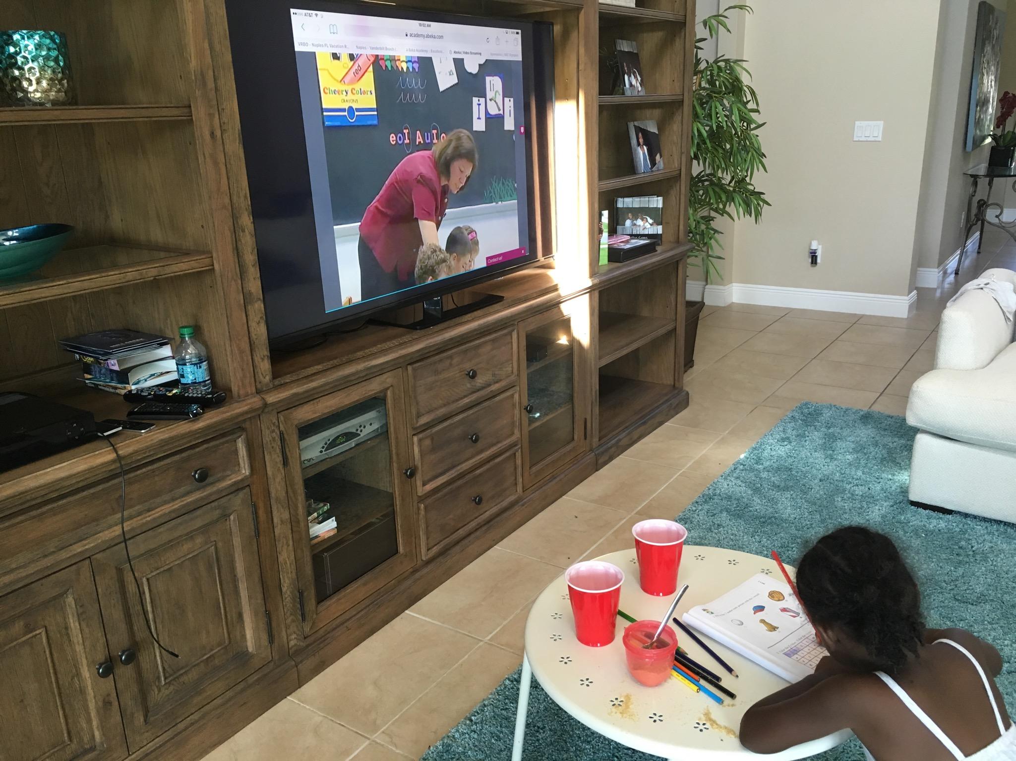 homeschool learning kids