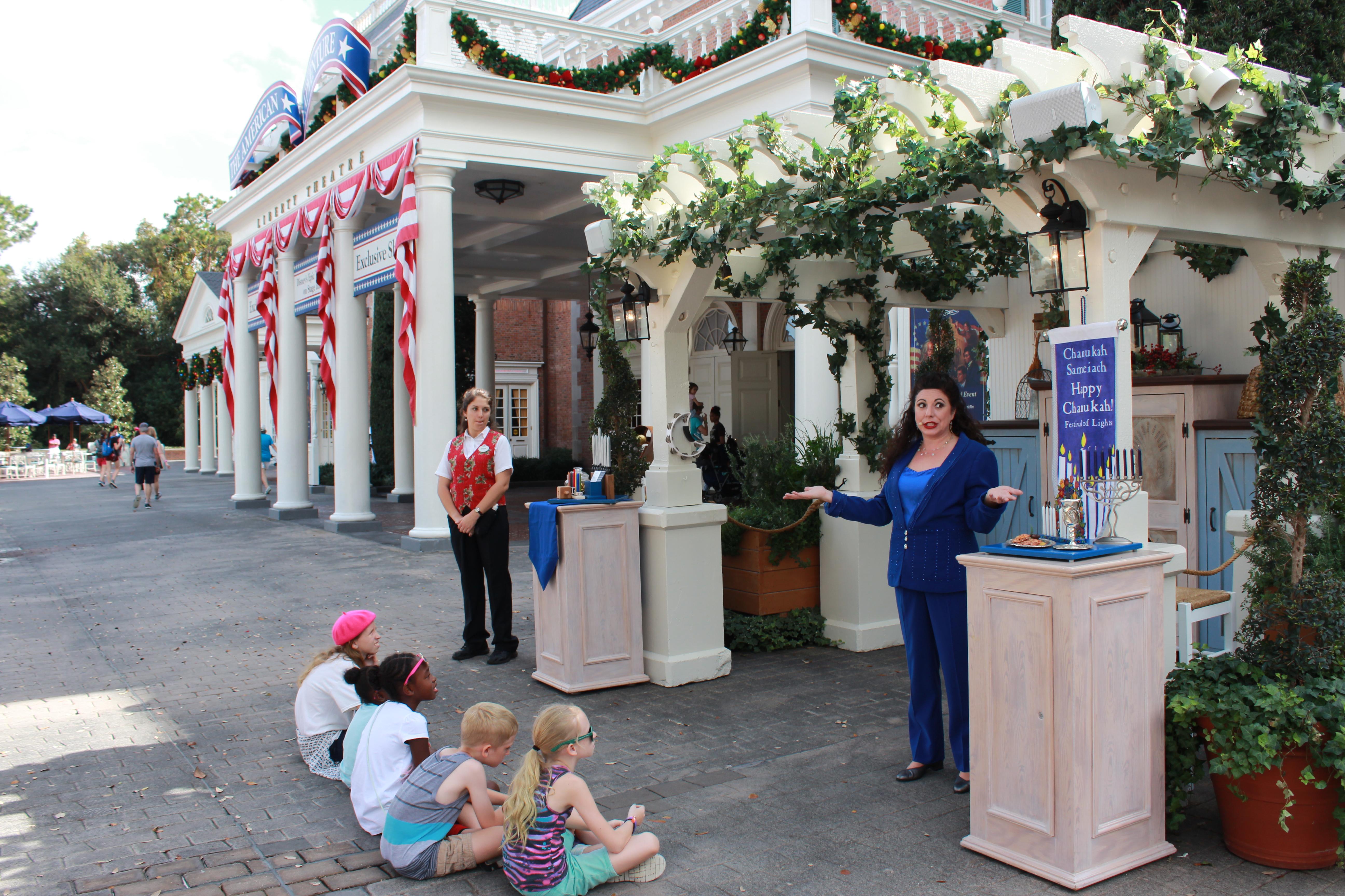epcot holidays around the world christmas hannukah