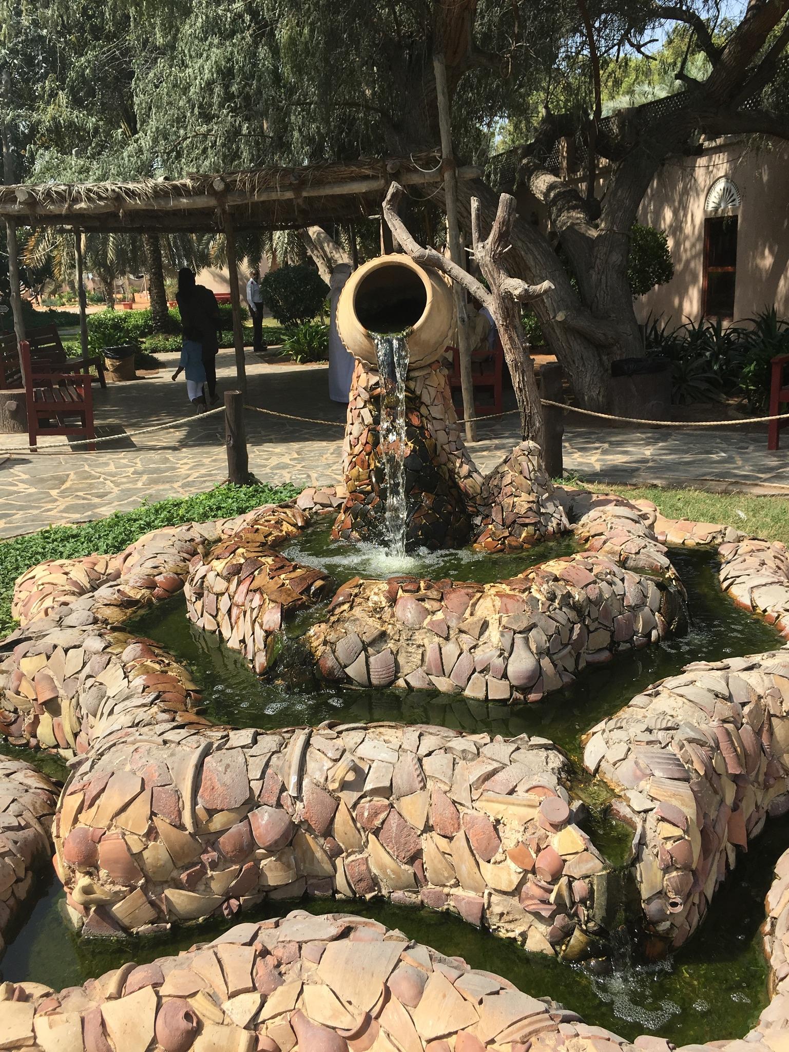 abu dhabi heritage village use